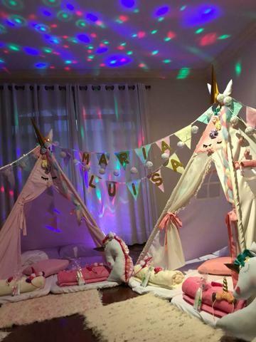 Festa nas Cabanas do Pijama