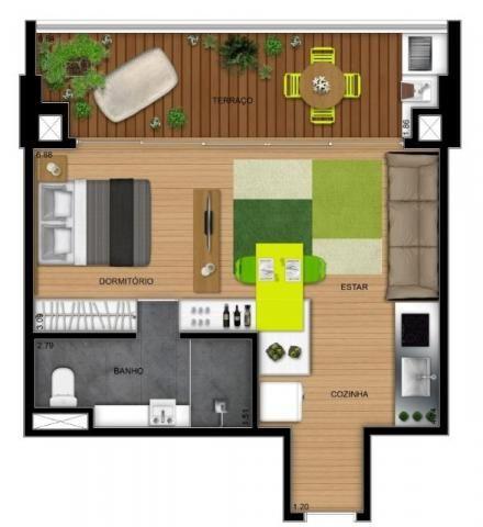 Apartamento Bela Vista, 1 Quarto, 50m2, Rosenbaum