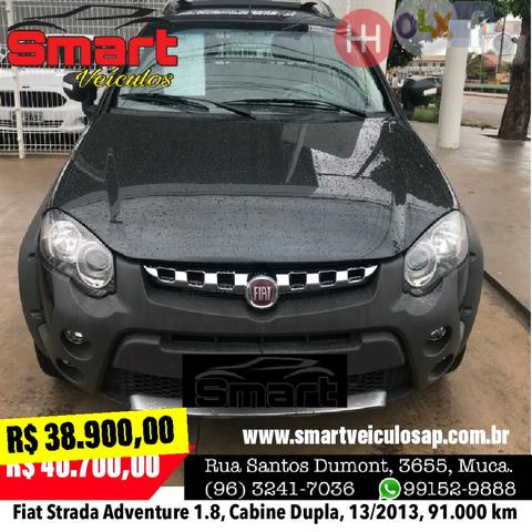 Smart Veículos - Strada Adventure 1.8, Cabine Dupla, 2013/2013, 91.000 km