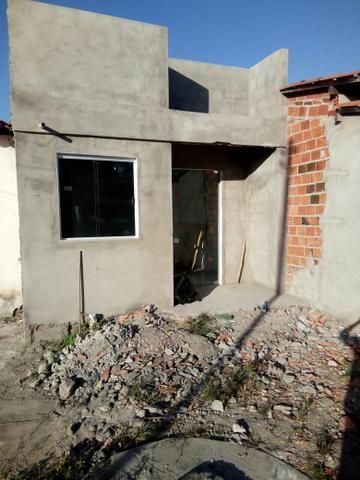 Casa com. estrutura pra Laje no distrito de humildes faço troca em carro mais volta