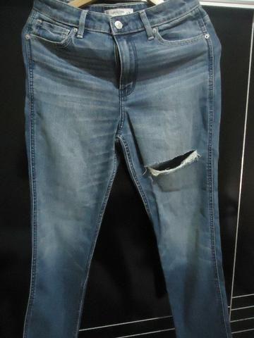 7f53654f05f77 Calça Jeans Abercrombie   Fitch (Feminina) - Roupas e calçados ...