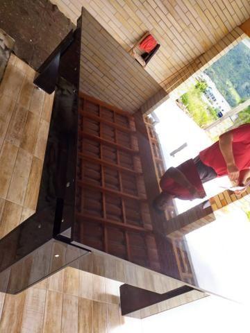 Mesa de Bilhar Gaveta Preta BL Estampa Jack Modelo GVT2123 - Foto 3