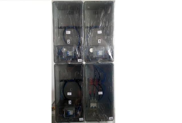 2e2d762266c Caixa Luz 3 Medidores Padrão Edp Bandeirante   Cpfl Relógio   Eletropaulo    Enel SP