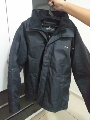 d76686411457 Casaco, jaqueta masculina nova cinza tamanho G - Roupas e calçados ...