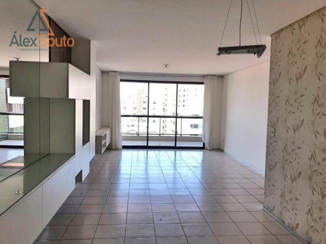 Apartamento com 3 dormitórios à venda, 126 m² por r$ 680.000 - jatiúca - maceió/al - Foto 2