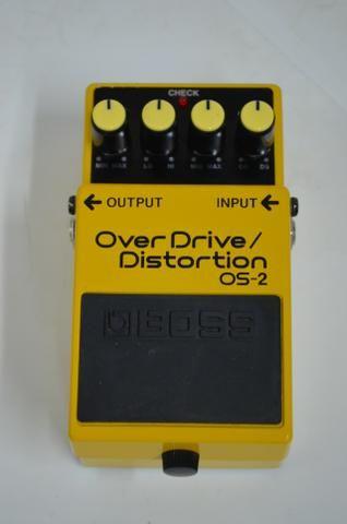 Pedal boss Os-2 Overdrive/Distortion (Zerado)