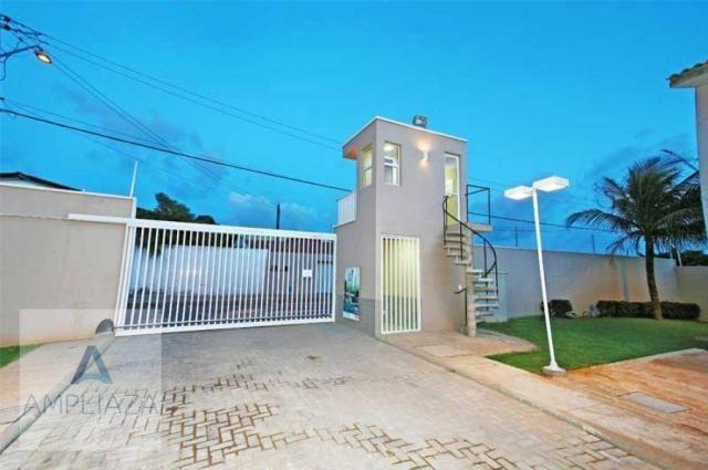 Casa à venda, 70 m² por R$ 189.000,00 - Messejana - Fortaleza/CE - Foto 8