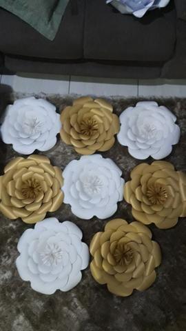 Flores / Flor de papel - Foto 3