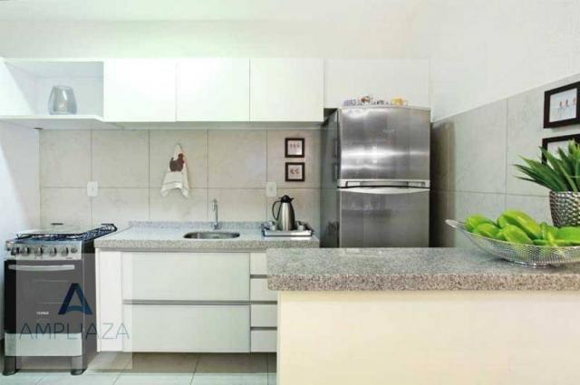 Casa à venda, 70 m² por R$ 189.000,00 - Messejana - Fortaleza/CE - Foto 4