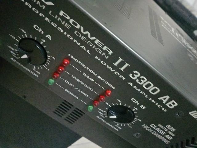 Vendo amplificador de som