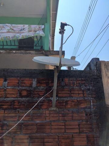Aparelho da sky e antena