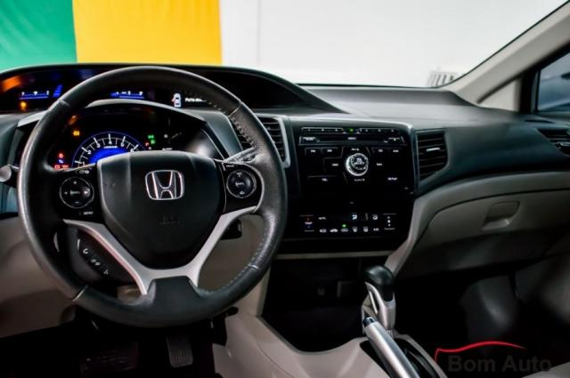 Honda Civic 2.0 LXR Automático 2015 - Foto 10