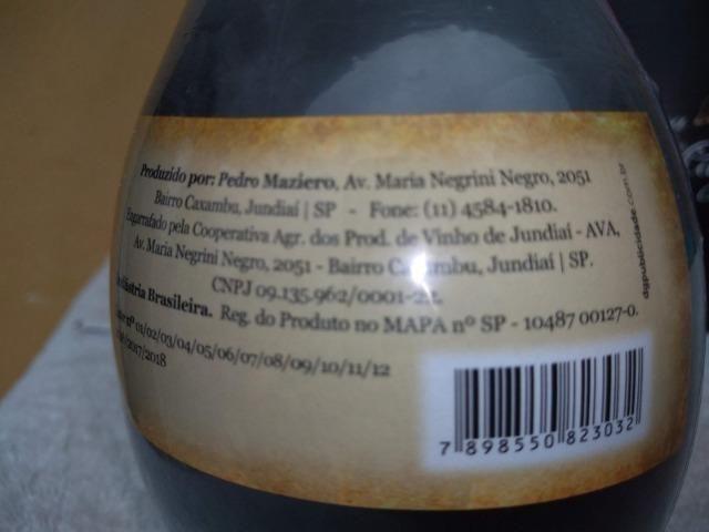 Licor de Jabuticaba Artesanal 370ML - Circuito das Frutas - Interior de SP - Foto 3
