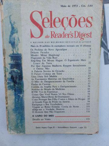 Revistas SELEÇÕES antigas de 1954 à 1971 - Foto 2