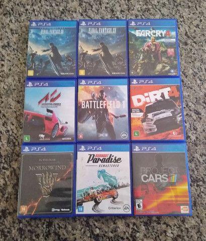 Jogos de PS4 mídia física (disponíveis) - Foto 3
