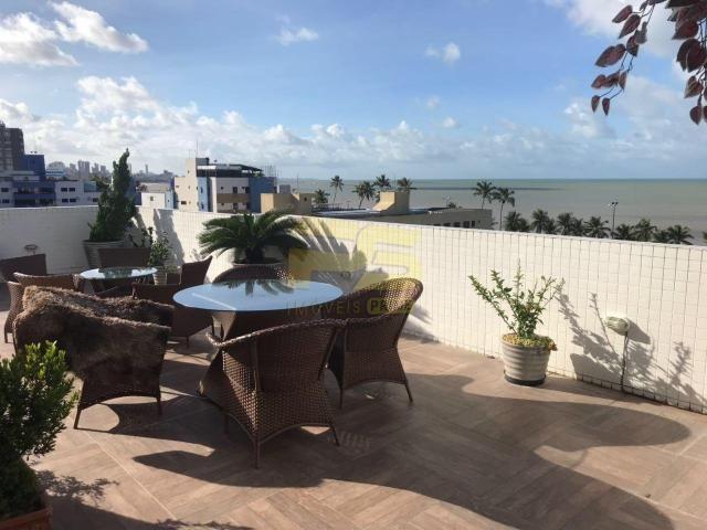 Apartamento à venda com 4 dormitórios em Cabo branco, João pessoa cod:PSP42