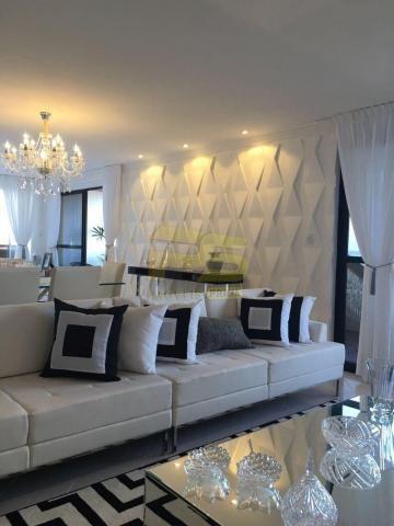 Apartamento à venda com 4 dormitórios em Cabo branco, João pessoa cod:PSP42 - Foto 2