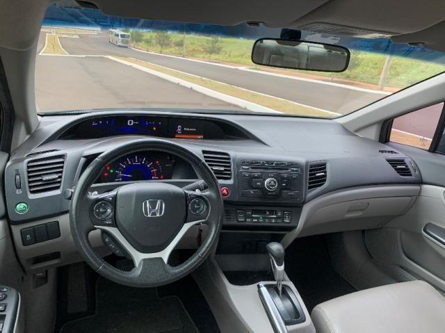 Honda Civic 2.0 LXR FLEXONE 4P - Foto 9