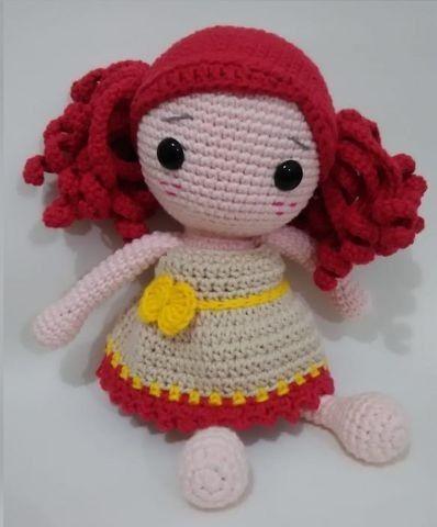 Bonecas Amigurumi Amigurumis - novas e lindas bonecas de crochê ... | 480x398