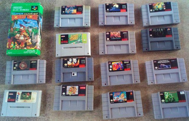 Jogos super Nintendo nitendo snes famicon n-64