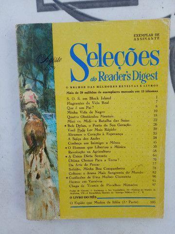 5 revistas SELEÇÕES de 1970. - Foto 2