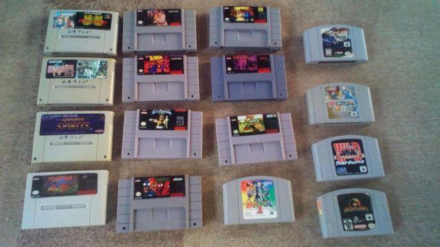 Jogos super Nintendo nitendo snes famicon n-64 - Foto 4