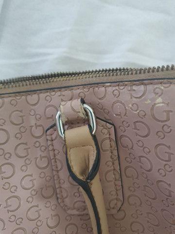 Bolsa rosa original guess - Foto 3