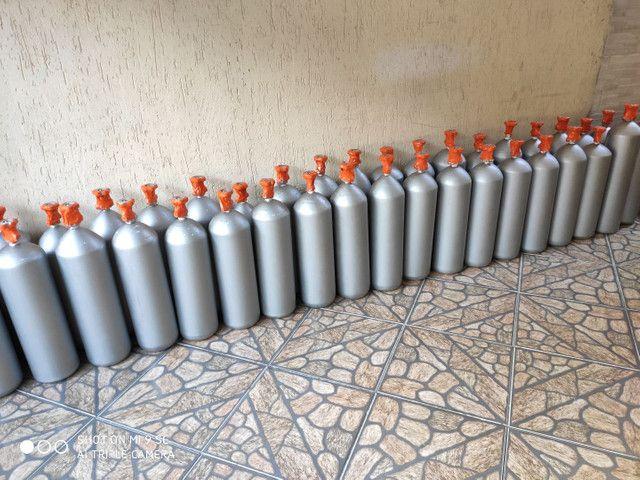 Cilindro 6 e 4kg CO2 para Chopp e Efeitos Especiais