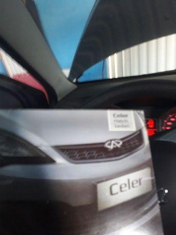 Chery celer 1.5 completo troco em caminhonete pra trabalho ou 27 mil - Foto 3