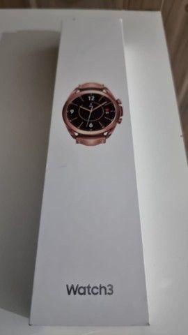 Smartwatch Samsung Galaxy watch 3 - Bronze - 41 mm - Foto 3