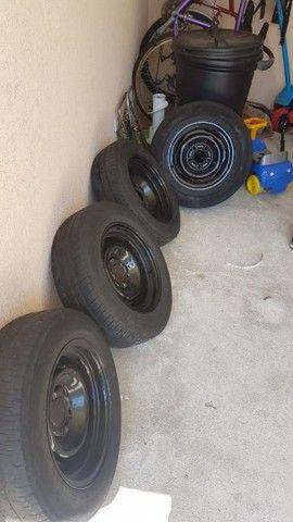Maverick rodas originais,serve no opala  - Foto 2