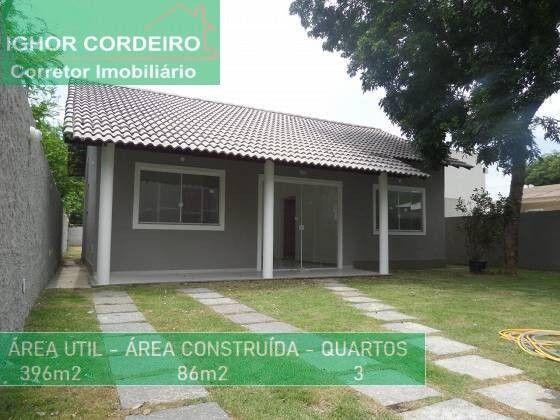 Casa Linear 1ª Locação, 3 Qtos, 1 Suíte, Cond. Fechado na Taquara.