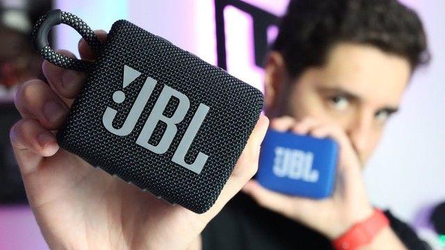 Caixa de Som Portátil JBL Go3 Com Bluetooth - Foto 5