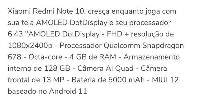 Xiaomi redmi note 10 - Foto 5
