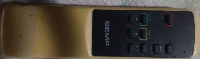 """Tv Semp 10"""" modelo 1021 c/ controle remoto - Foto 3"""