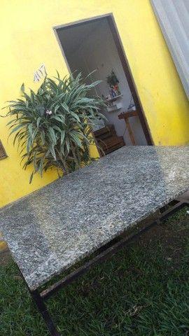 Mesa de mármore 1,30x1,40