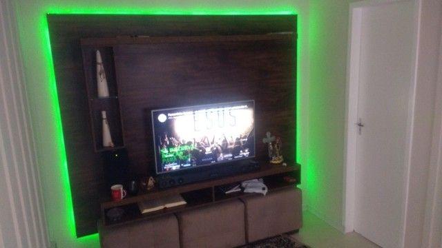 Painel para TV rústico - Foto 5