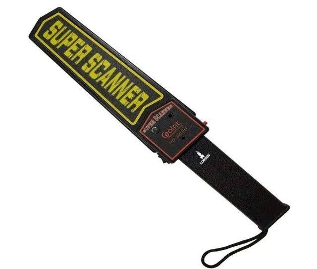 Detector de metais Super Scanner para seguranças - Foto 3