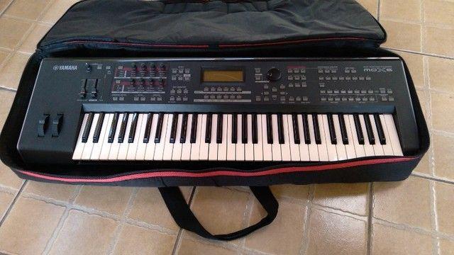 Teclado Yamaha mox6 bem conservado - Foto 4