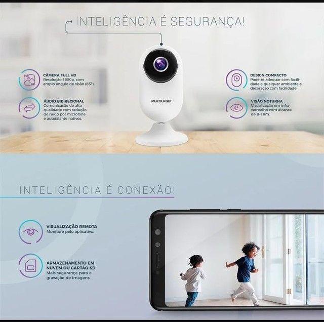 Câmera de Segurânça Wi-fi Acesso Remoto Via Celular - Foto 2