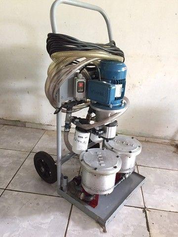 Recuperação de óleos hidráulicos - Máquina filtragem - Foto 2