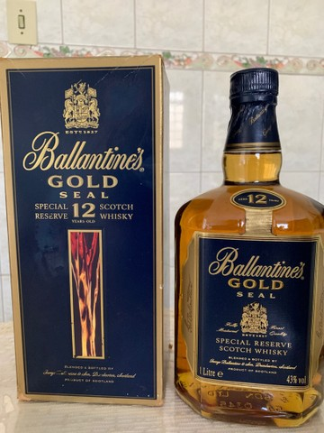 Whisky ballantine?s gold seal 12 anos