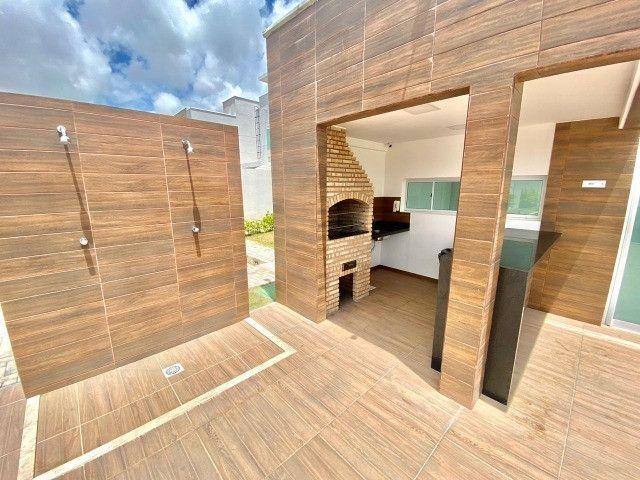 Casas Duplex com 3 quartos e lazer completo no Eusébio - Foto 14