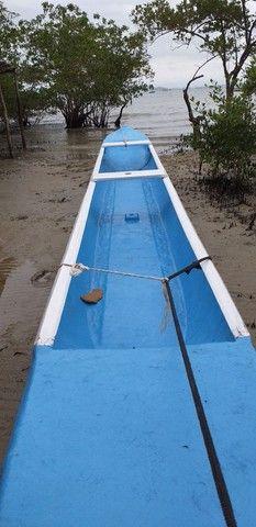 Canoa de fibra 5.800 - Foto 2
