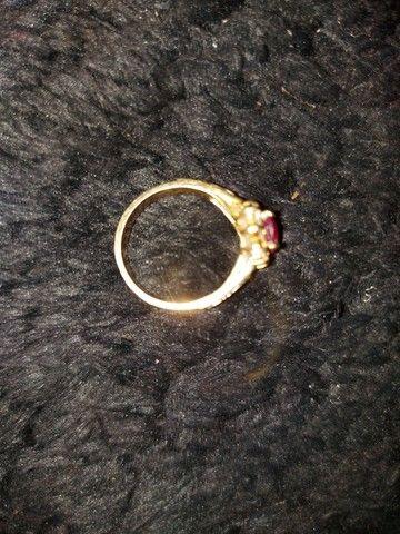 Vendo anel de ouro 18k - Foto 4