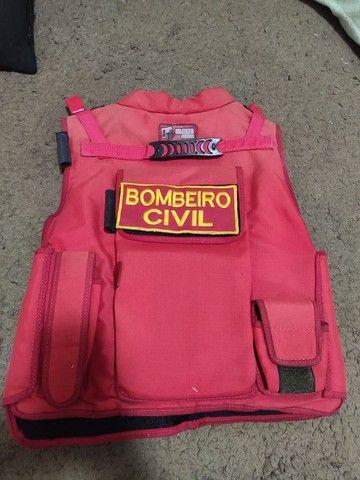 Colete Bombeiro Civil - Socorrista - Foto 2