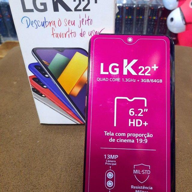 Lg k22++ só 699 novo na caixa - Foto 2