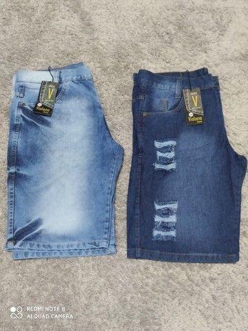 Bermudas Sociais e Jeans preço de Atacado - Foto 2