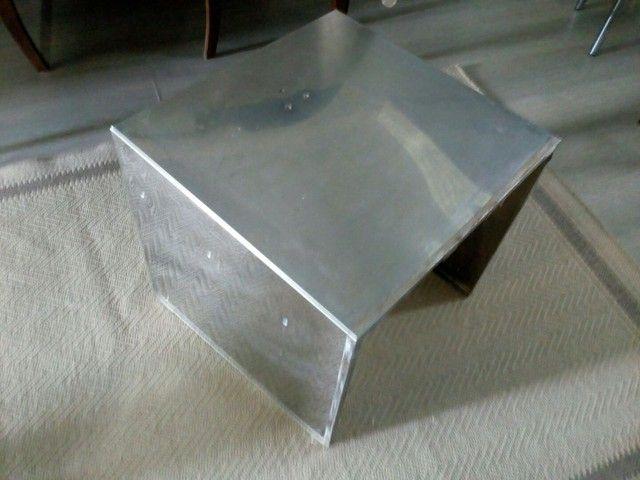Peça de aço inox 3 lados - Foto 6