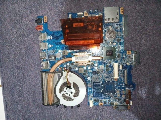 peças do notebook sony vaio svf142c29l - Foto 4